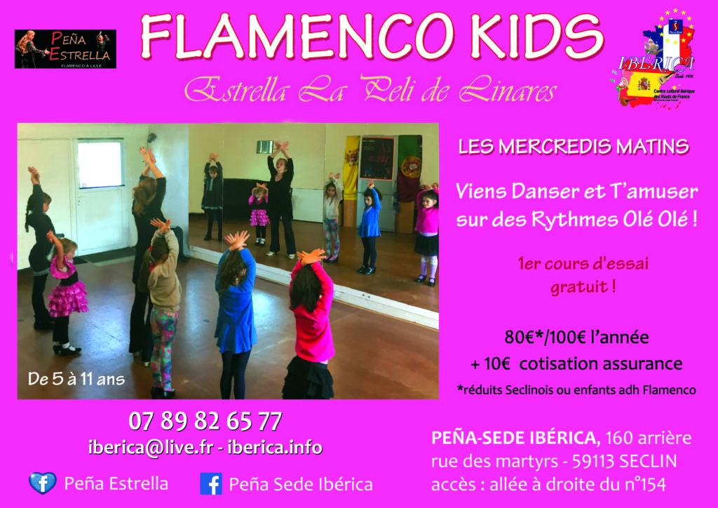 flamenco enfants lille Nord pas de Calais Picardie Hauts de FRance belgique FLAMENCOKIDS estrella