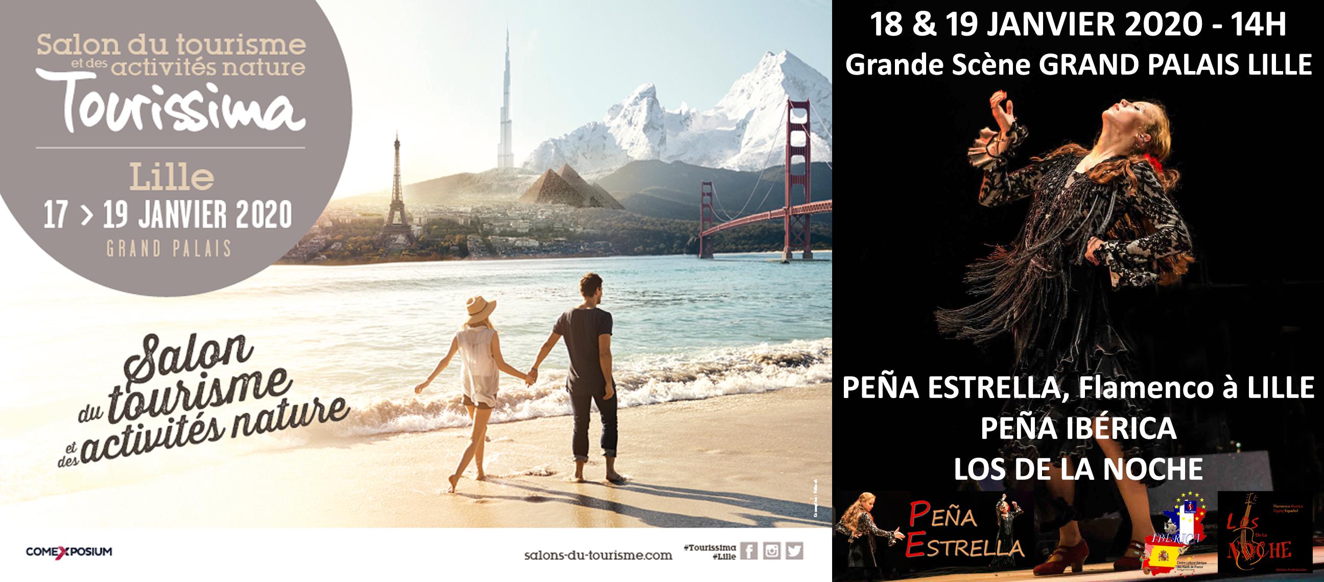 Flamenco Grand Palais Lille Tourissima Estrella La Peli de Linares 18&19 Janvier à 14h