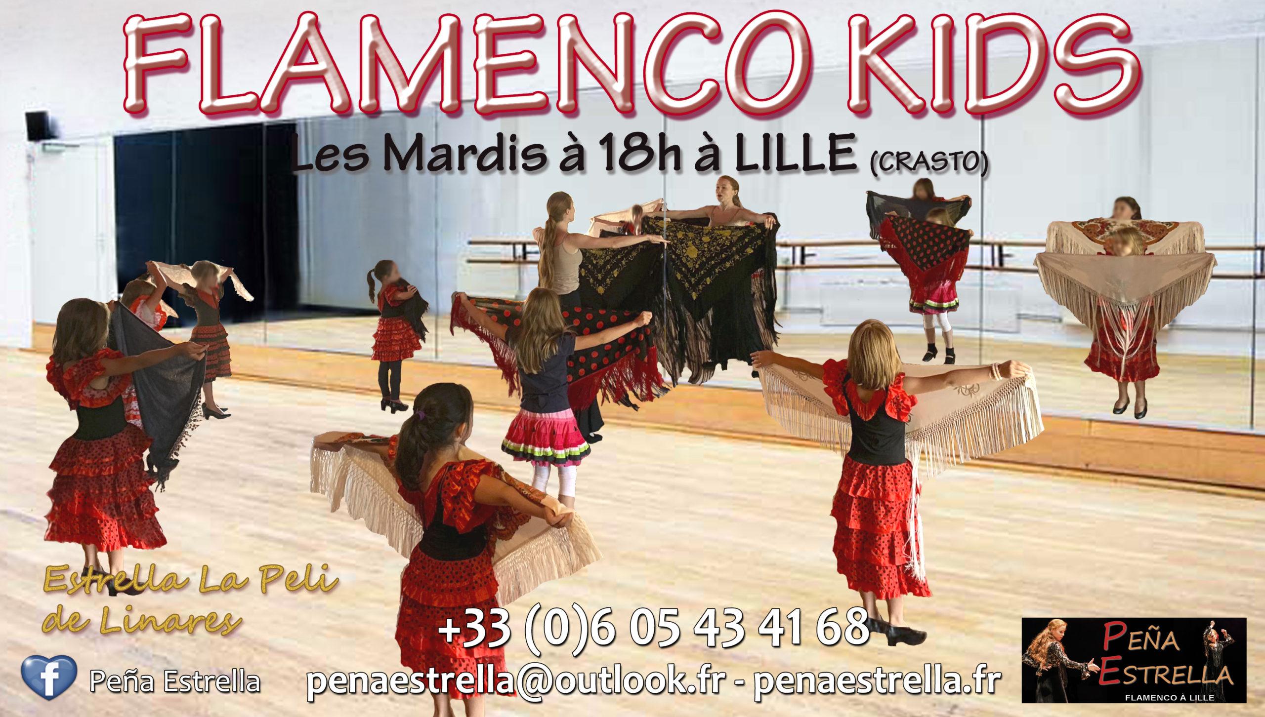 Cours Danse Enfants Lille Flamenco Kids  Nord Hauts de France