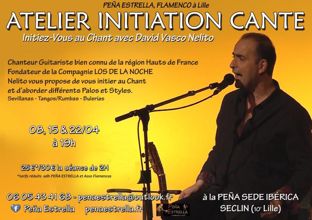 Cours Flamenco Chant Lille Hauts de France Nord pas de Calais Picardie