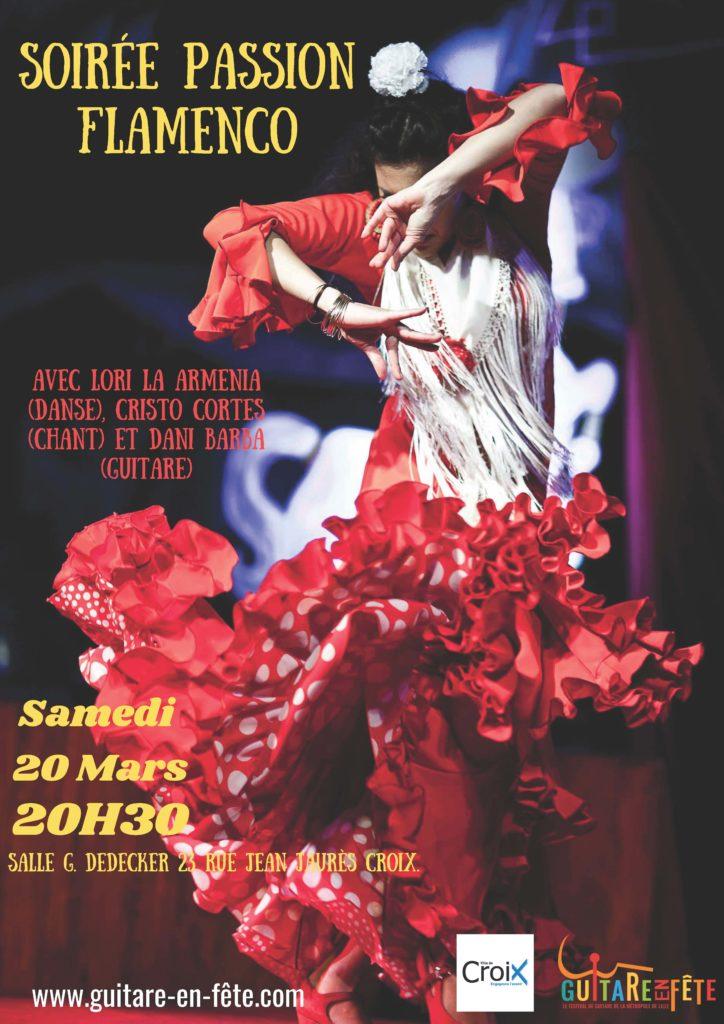 Flamenco Lille Peña Estrella partenaire Guitare en Fête