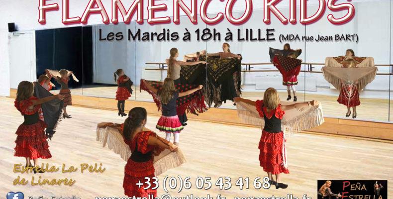 Flamenco Enfants Lille Danse Sport Peña Estrella