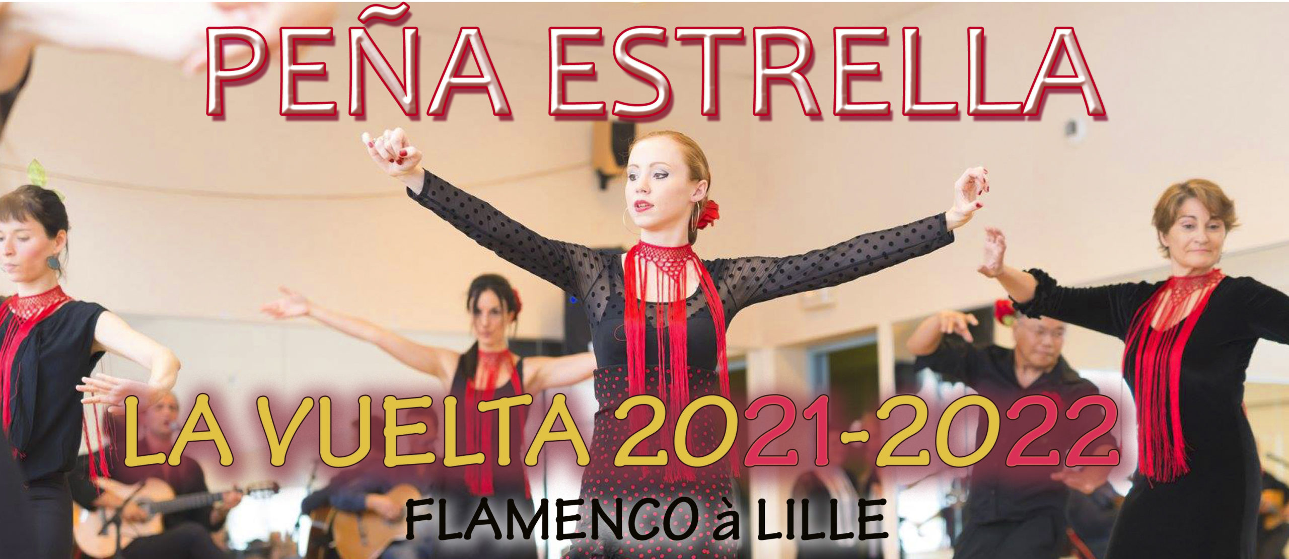 FLAMENCO LILLE RENTRÉE 2021-2022 ADULTES ENFANTS PEÑA ESTRELLA